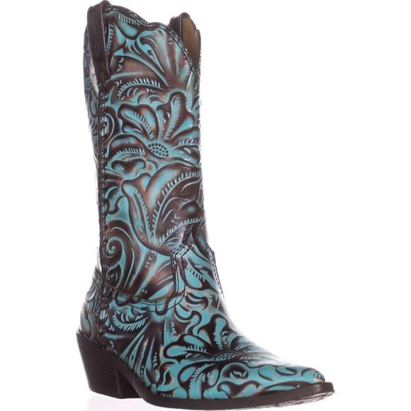 e2f9f5b4624 🎉HP🎉Patricia Nash Bergamo Turquoise Western Boot